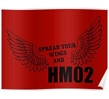 Spread your wings and HM02 Poster