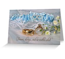 Commitment Greeting Card