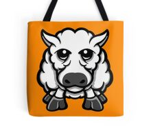 Year Of The Sheep White and Grey  Tote Bag