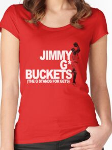 Jimmy G* Buckets Women's Fitted Scoop T-Shirt