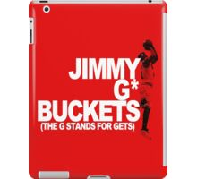 Jimmy G* Buckets iPad Case/Skin