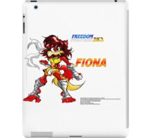 Freedom Fighters 2K3 Fiona iPad Case/Skin