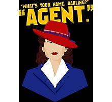 agent Photographic Print