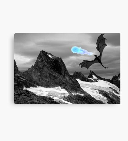 Dragon Art  Canvas Print