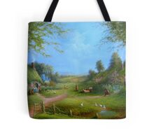 A Hobbits Adventure (late for an appointment) Tote Bag