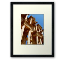 Celcus Library Framed Print
