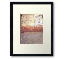 Fresco I Framed Print