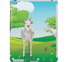 Goat and Green Lawn3 iPad Case/Skin