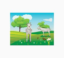 Goat and Green Lawn3 Unisex T-Shirt