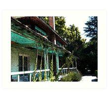house of blues Art Print