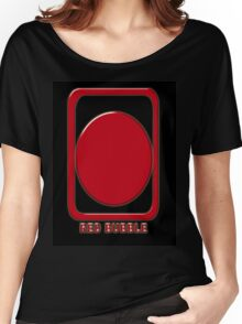 Red Bubble Chop T-Shirt Women's Relaxed Fit T-Shirt