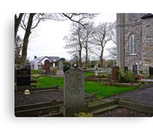 Drumcliff Cemetery in Sligo, Ireland Canvas Print