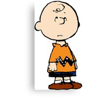 Charlie Brown Canvas Print