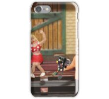 Lucy expressed a desire for a beaded clutch; Dan's mistake was not consulting one of her friends for advice. iPhone Case/Skin
