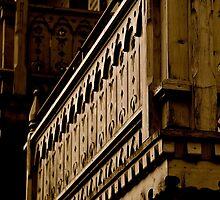 Typical Alpine Balcony by Tom Page