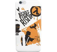Resist - Fight - Riseup iPhone Case/Skin
