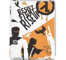 Resist - Fight - Riseup iPad Case/Skin