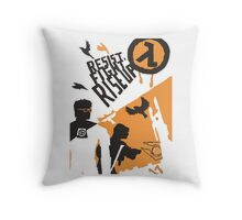 Resist - Fight - Riseup Throw Pillow