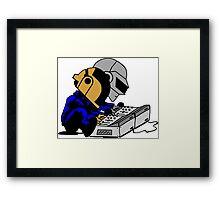 Daft Punk Peanuts Framed Print