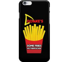 Some Fries Motherfucker - Doakes/Dexter iPhone Case/Skin