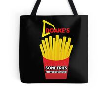 Some Fries Motherfucker - Doakes/Dexter Tote Bag
