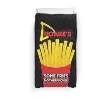 Some Fries Motherfucker - Doakes/Dexter Duvet Cover