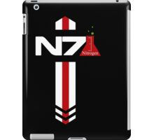 N 7 Nitrogen Effect iPad Case/Skin