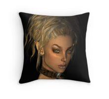 Elfish Purity  Throw Pillow