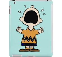 Charlie Brown crying iPad Case/Skin