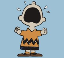 Charlie Brown crying by Thomassus