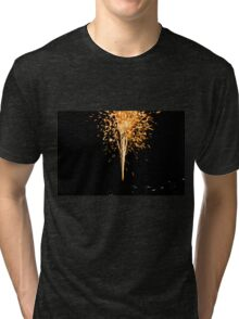 Fire Works Tri-blend T-Shirt