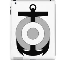 Roundel of the Peruvian Naval Aviation (low visibility) iPad Case/Skin