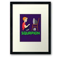 Squrpion Framed Print