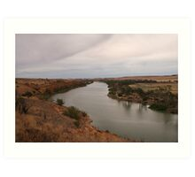 Water in the Murray Art Print
