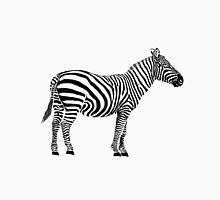 Zebra black stripes only Unisex T-Shirt