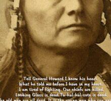 Chief Joseph of the Nez Perce Sticker