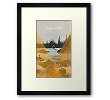 Year Of Silence Framed Print