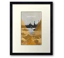 Year Of Silence Framed Print