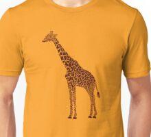 Giraffe Large Unisex T-Shirt