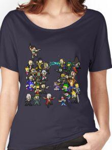 Epic 8 bit Battle! Women's Relaxed Fit T-Shirt