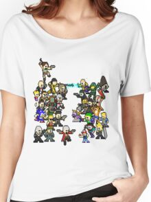 Epic 8 bit Battle! Women's Relaxed Fit T-Shirt