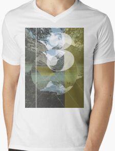 Divide Mens V-Neck T-Shirt