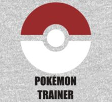 Subtle pokeball pokemon logo red and black - pokemon trainer by hellohappy