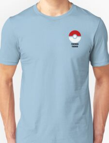 Subtle pokeball pokemon logo red and black - pokemon trainer T-Shirt