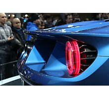 2017 Ford GT Tail-light Side view Photographic Print