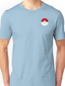 Subtle pokeball pokemon logo red and black - no words Unisex T-Shirt