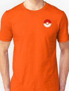 Subtle pokeball pokemon logo red and black - no words Unisex T-Shirt