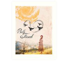 Belle French Art Print
