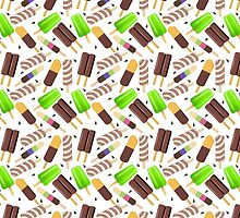 Ice Cream Dreaming 3 Duvet Cover by Gotcha29