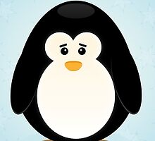 Sad Penguin by Febreezy